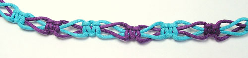 2 color switch knot sennit