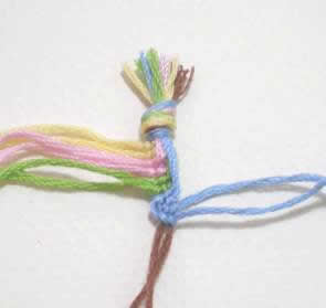 Wave and Loop Friendship Bracelet Image 6