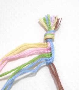 Wave and Loop Friendship Bracelet Image 4