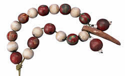 Wood or Clay Beads