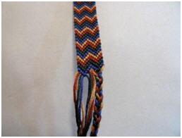 Labels: Double Friendship Bracelet Pattern
