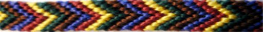 Friendship Bracelet Chevron Pattern