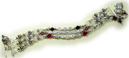 Three-Strand Grandmother Bracelet