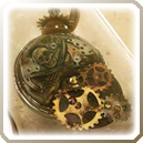 Steampunk Pendant Icon