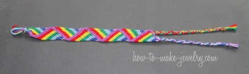 Advanced Zig Zag Friendship Bracelet