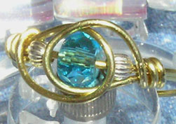 Finished bead ring