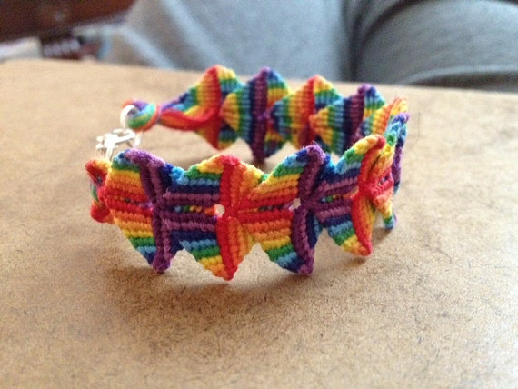 Friendship Bracelet Patterns Magnificent Double Wave Friendship Bracelet Pattern