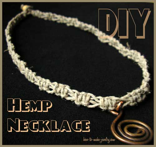 DIY Hemp Necklace