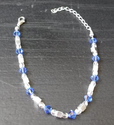 how to make crystal anklets at home