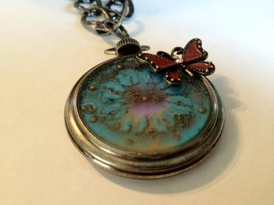 Sunflower Glow Locket