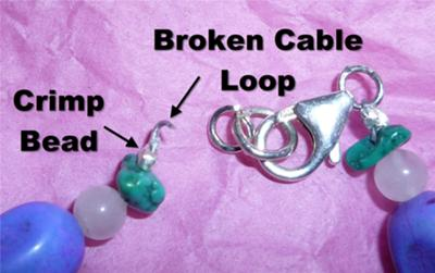 Close-Up of Broken Cable, 1