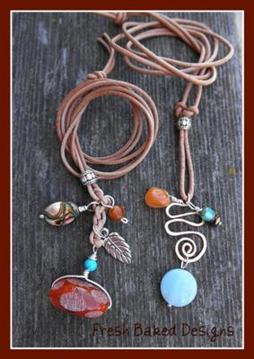 Bead and Wire Charms