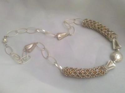 Netted Necklace from DesignsbyJole~