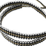 How To Make The Links Of London Gold Black Double Wrap Friendship Bracelet