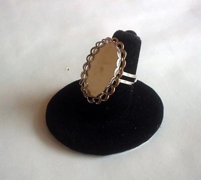 Silverplated Ring Blank