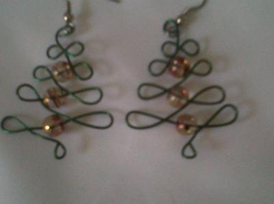 Merry Christmas Earrings.