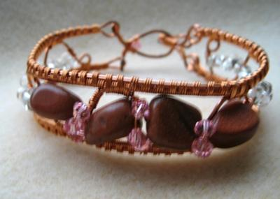 Goldstone And Crystals.
