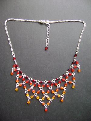 Renaissance on Fire Necklace