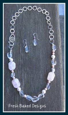 Quartz Necklace Set
