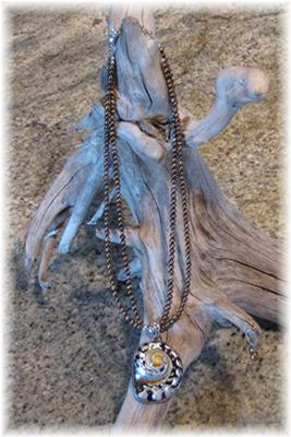 Cheri's unique ocean-inspired necklace.