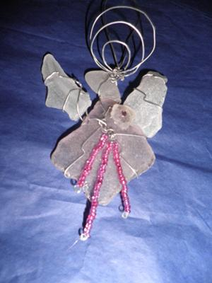 Sea Glass Angel