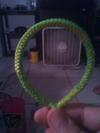 Green & Yellow Lanyard Bracelet