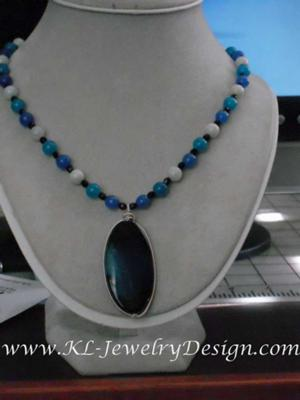 Blue Gems Necklace