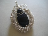 Wire Wrapping Sodalite