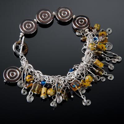 This is Bridgette's jewelry contest entry, what a beautiful design!