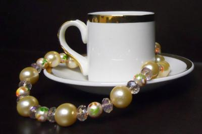 Caffeinated Gems and Jewels, the signature piece!